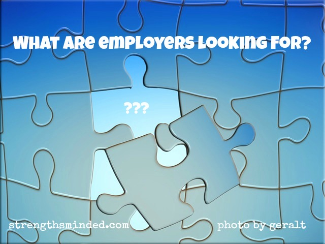 What Employers Look For StrengthsMinded