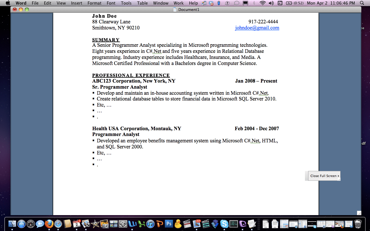 ... write your resume work experience section yahoo how to make a resume