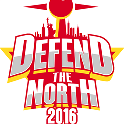 Defend the North 2016 logo