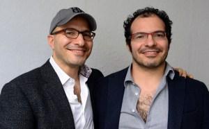 Ali Partovi and his twin brother Hadi