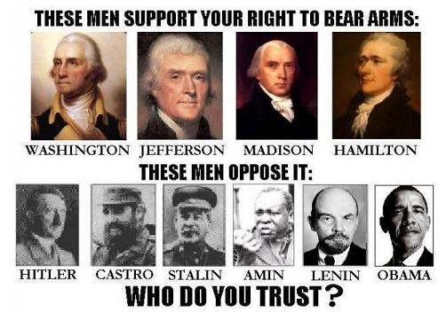 Gun control Founding Fathers Communists