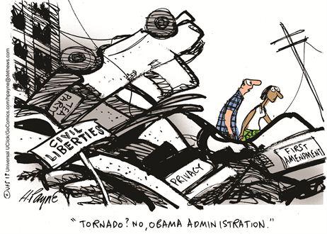 civil liberties obama tornado