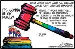 Homosexual - gay marriage wont affect us