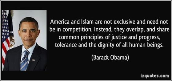 Obama America and Islam
