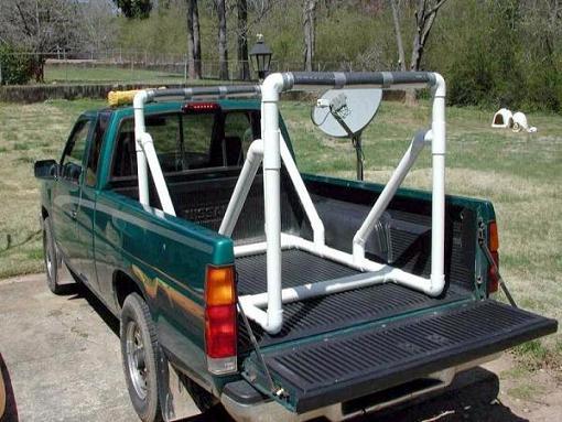 Pvc Pickup Truck Rack Pics Kayaking And Kayak Fishing