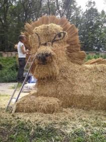 Stroh-Löwe / Straw-Lion Ravelsbach