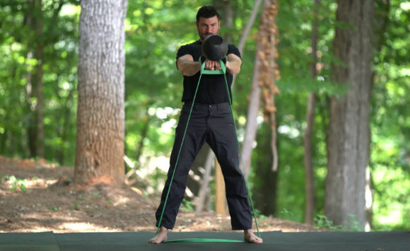 Overspeed Eccentric Kettlebell Swings and Depth Jumps