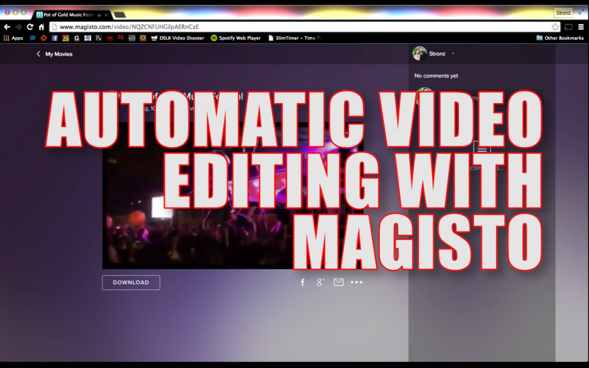 Automatic Video Editing With Magisto (Free)