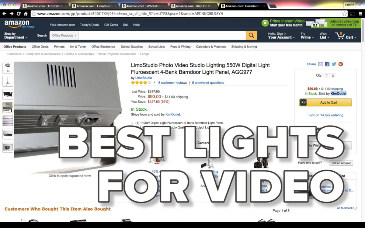 Best Lights for Video Production