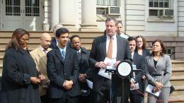 New York City Mayor Bill De Blasio in 2010. Photo via WIKIMEDIA COMMONS