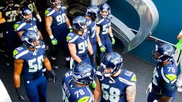 Seattle Seahawks players in 2015. Photo via WIKIMEDIA COMMONS
