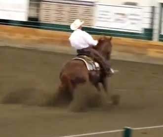 Reno – 2nd place Region 1 Open Reining