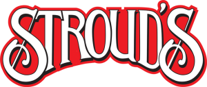 strouds logo red med