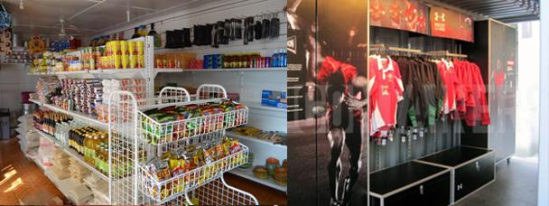 Spaza Shop Converted Shipping Container Africa