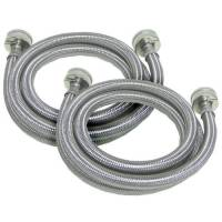 Replace your old rubber washing machine hoses