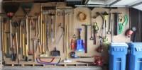 Garage Organization: it's tough to beat pegboard ...