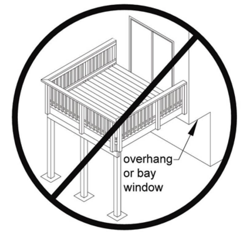The Problem with Attaching a Deck to a Cantilevered Floor