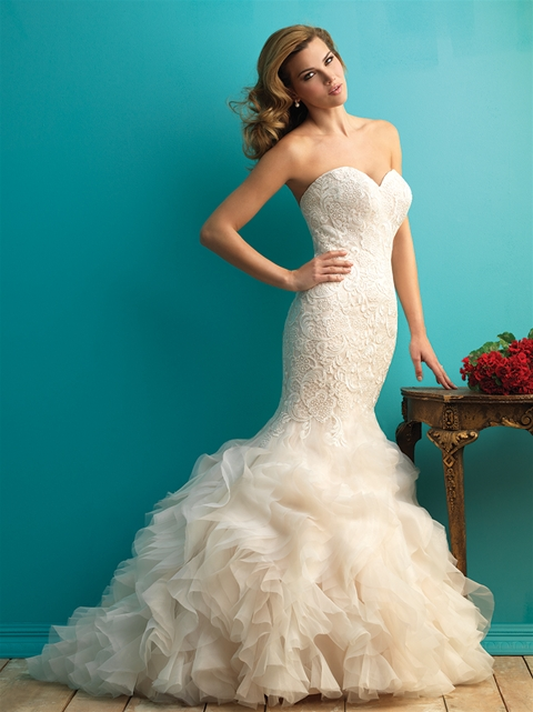 Cute Trumpet Wallpapers 3 Of Our Favorite Plus Size Wedding Dresses With Ruffles