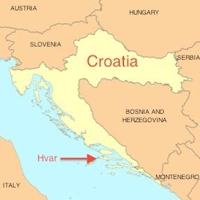 Snapshot hvar croatia map of hvar croatia gumiabroncs Image collections