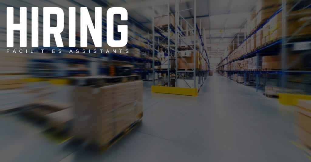 Hiring Facilities Assistants in Nashville, Tennessee