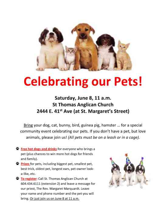 Celebrating our Pets1