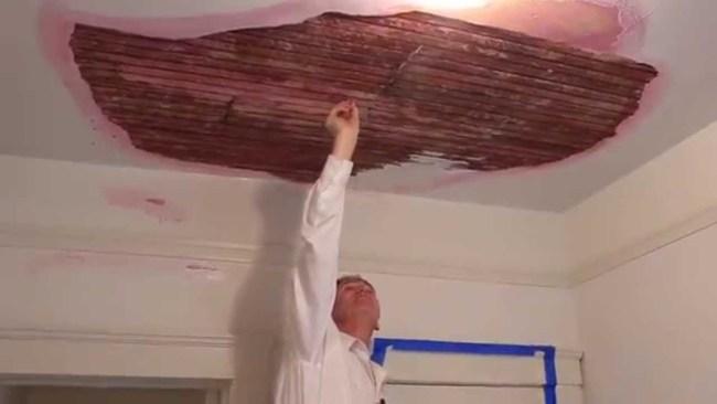 Rendering plaster kirk giordano plastering for Interior stucco ceiling repair