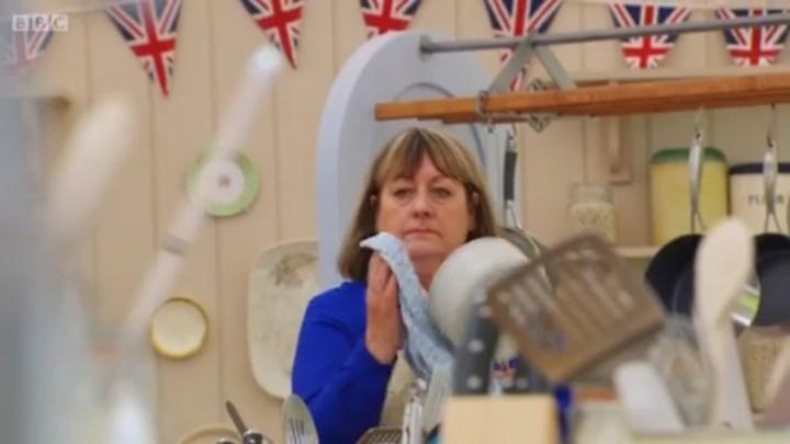 BBC budget cuts hit hard. Poor Tamal is stuck wielding a boom mic.