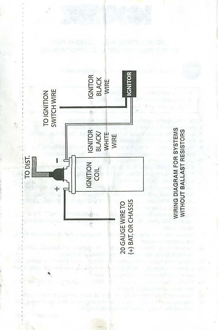6 volt ignition wiring diagram