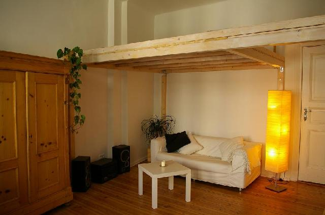 Hochbett! Loft Bed - Hochbett Pinterest Hochbetten, Betten - dachschraege einrichten einraumwohnung ideen