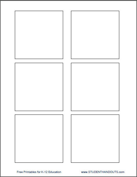 Template for Printing Directly on 3\ - Note Template