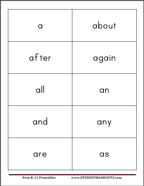 sight words cards - Goalgoodwinmetals - dolch sight word flashcards