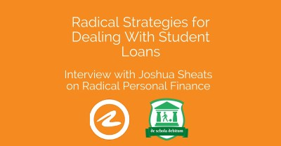 SLS035: Radical Strategies for Dealing with Student Loans