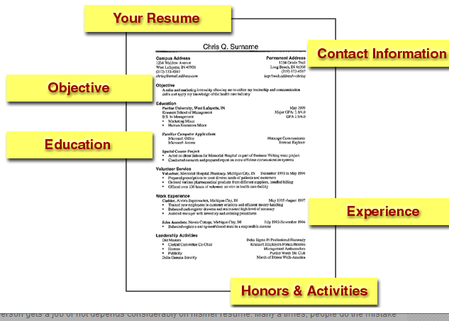 tips for writing a great resume ensure correctness make