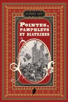 Couverture de Pointes, pamphlets et diatribes de Monique Nemer, 2011