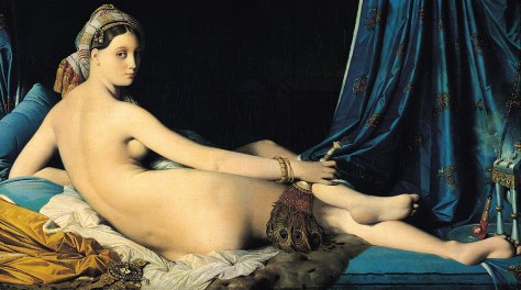 Jean Auguste Dominique Ingres, La Grande Odalisque, 1814, Louvre, Paris