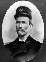 Portrait du Facteur Cheval en uniforme