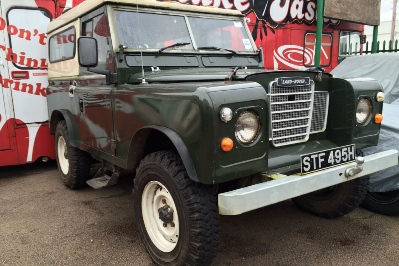 1970 Land Rover Series 3 Control Cables  Wiring Diagram