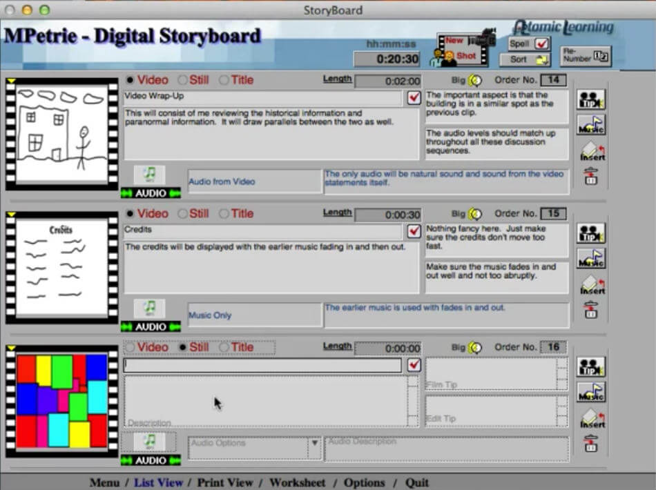 Top 11 Storyboard Software of 2017 (with free Storyboard Templates) - digital storyboard templates
