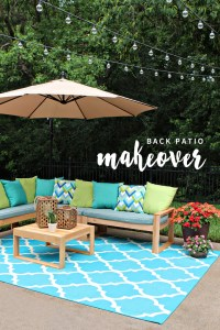 Back Patio Makeover | Gray House Studio