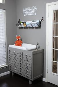 Wall Mounted Baby Changing Table. 100 Height Of Baby ...