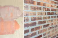 How to Paint a Faux Brick Wall | Gray House Studio