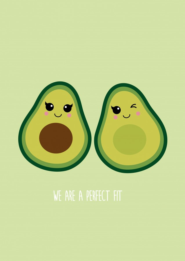 Teacher Quotes Wallpaper Iphone Postkaart Perfect Fit Avocado Studio Inktvis