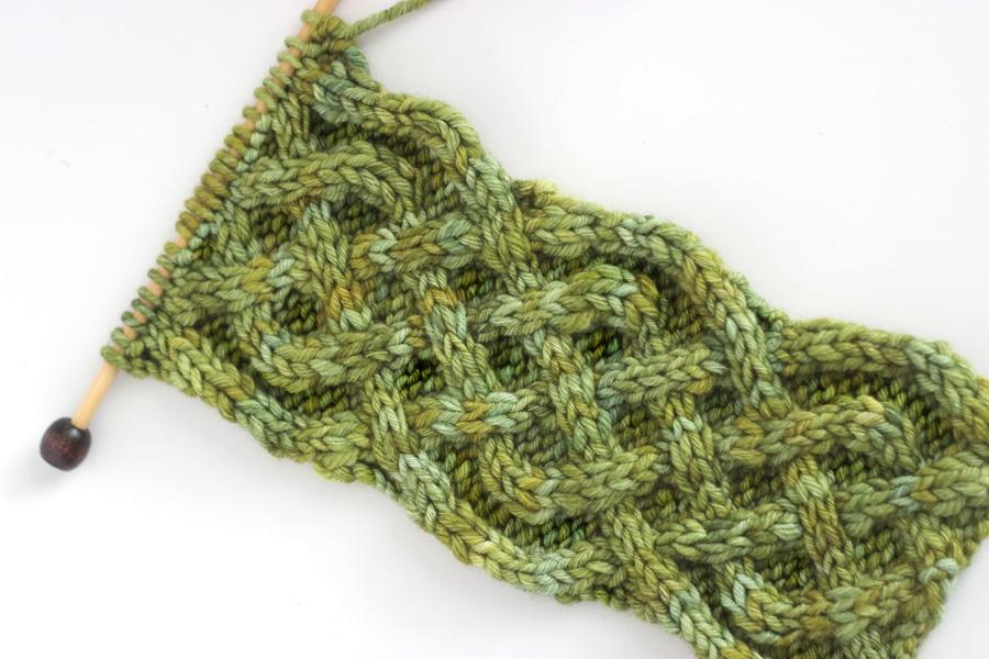 Outstanding Celtic Knot Knitting Pattern Illustration