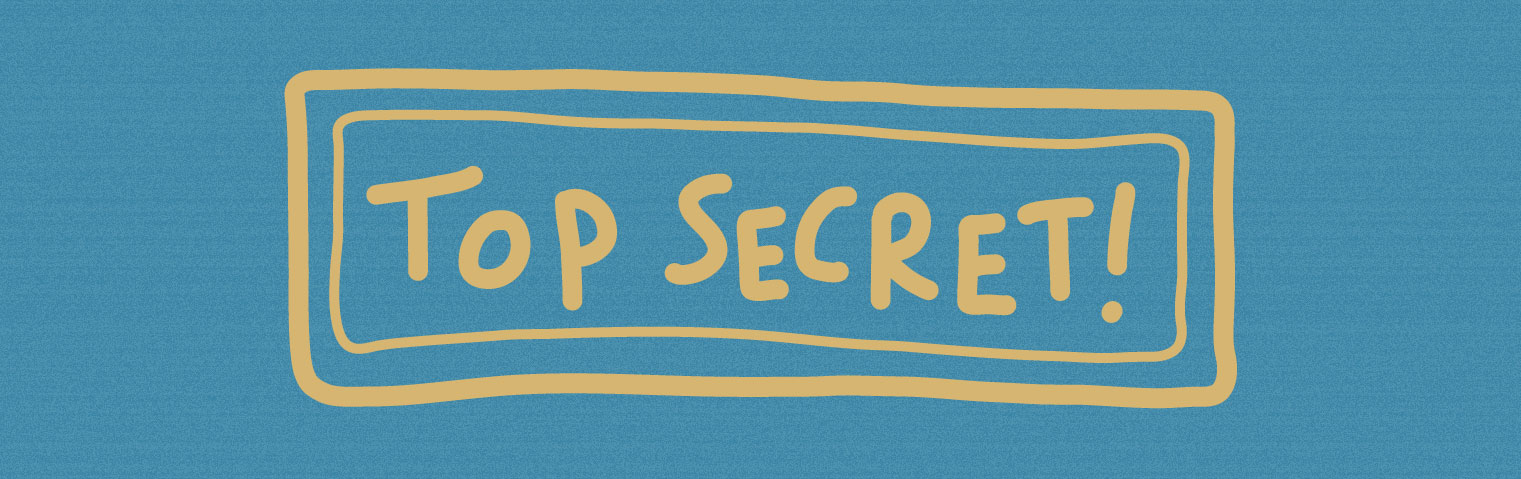 Stamp Top Secret! - Studio Limón