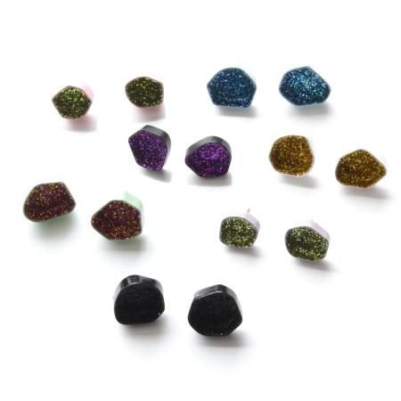 Geode Earrings Etsy