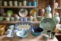 Maine Pottery Dinnerware & MIKASA STONEWARE POTTERY ...