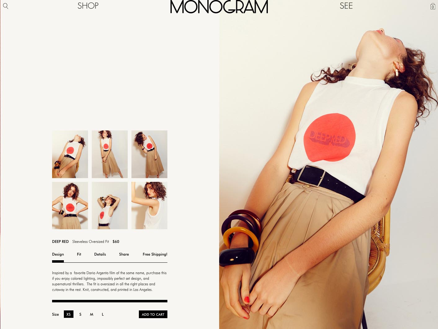 Monogram identity design by Scissor.