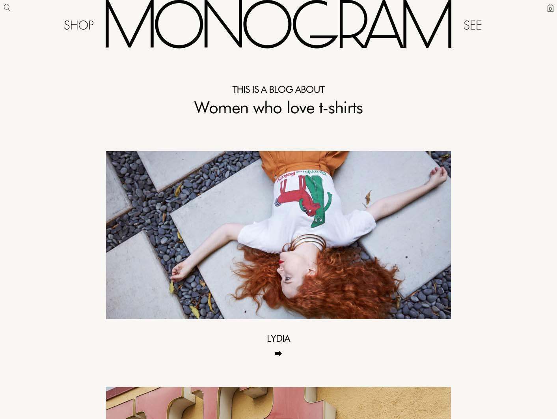 Monogram identity design by Scissor.