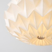 Signature folded paper origami lampshade : Paper origami ...