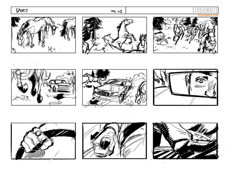 STUDIOWHITE VISUALS- Concept Art  Storyboards \u2013 Page 5 \u2013 The more